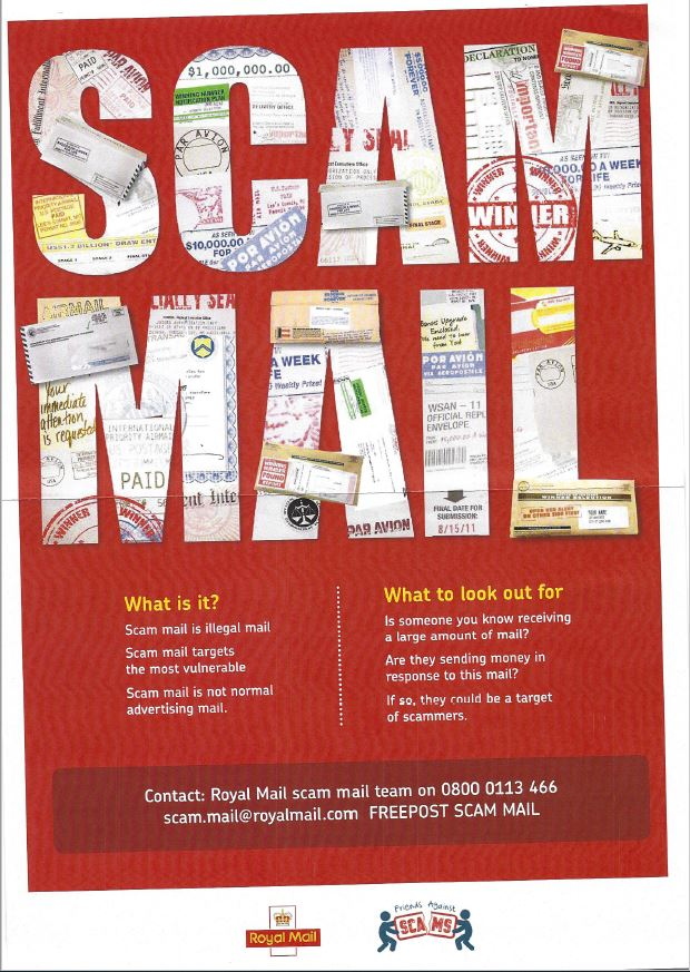 Scam Email Poster